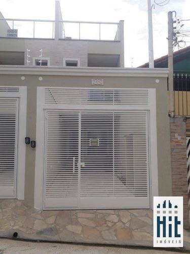 Imagem 1 de 21 de Sobrado À Venda, 125 M² Por R$ 850.000,00 - Vila Brasílio Machado - São Paulo/sp - So0588