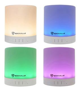 Bocina Bluetooth Portátil W/led Rockille Envío Gratis
