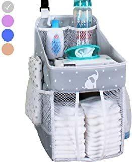 Baby Crib Diaper Caddy - Organizador De Pañales Colgantes -