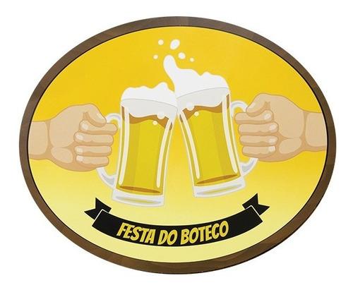 Imagem 1 de 8 de Kit Festa No Boteco Happy Day Decoração