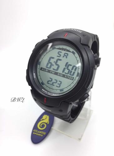 Relógio Atlantis Digital Esportivo Prova D'agua