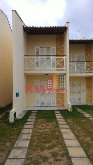 Vende-se Casa Duplex No Residencial Gênesis - Ca0301