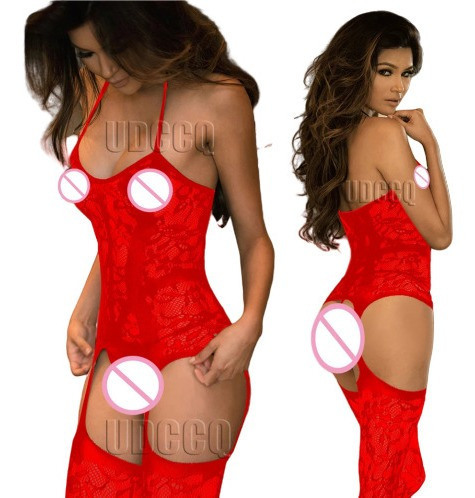 Pantimedias Tipo Body Con Liguero, Sexy Stockings + Envió