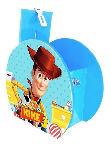 6 Alcancía Centro Mesa Dulcero Woody Toy Story Personalizado