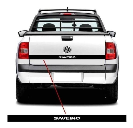 Adesivo Tampa Traseira Volkswagen Saveiro G5 G6 Ca-05364