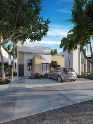Casa Nueva En La Playa De Chelem, En Nuevo Desarrollo De Privadas Residenciales Con Amenidades, 1 P