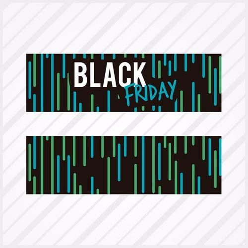 Adesivo Para Vitrine Black Friday Faixa + Aplicador Grátis