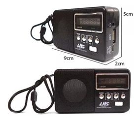 Promoção!!radio Usb Recarregável Lhs 239.