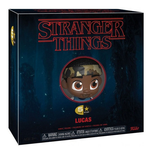 Funko Pop Lucas Stranger Things Five Star Original Educando