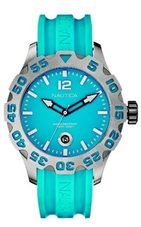 Nautica Hombres N14602g Bfd 100 Reloj Azul- Envío Gratis