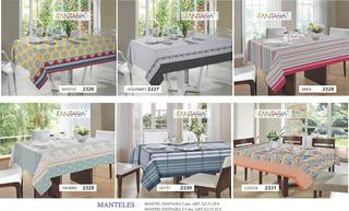 Mantel Fantasia 140x210 Cm - Varios Diseños