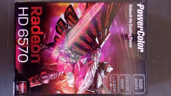 Placa De Video Radeon Hd 6570 2gb 128 Bits