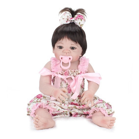 Bebe Reborn Boneca 100% Silicone Menina Barato Promoção