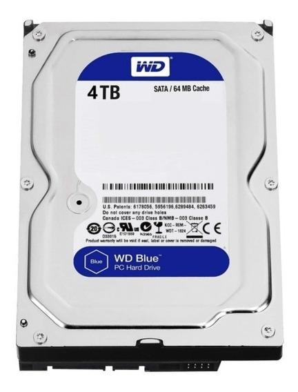 Disco Rígido 4tb Western Digital Blue Sata Pc Hd