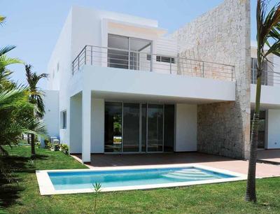 Gran Y Preciosa Villa En Playa Nueva Romana
