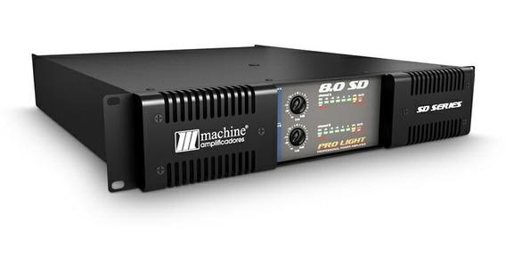 Amplificador Machine 8.0 Sd