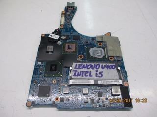 Placa Madre Notebook Lenovo U400 Intel I5 4 Cpu 2400mhz