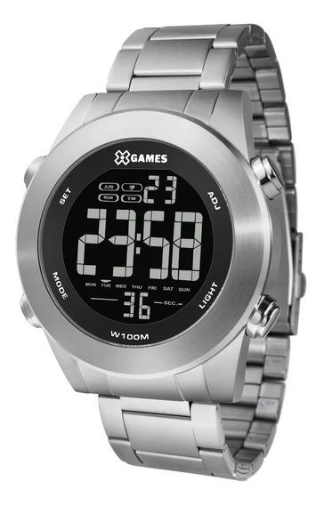 Relógio X Games Masculino Xmssd001 Pxsx Digital Prateado