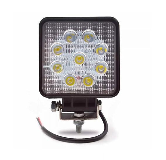 Faro Proyector Led Kushiro 6 Led + Led Off Road 9 Led 4 Un