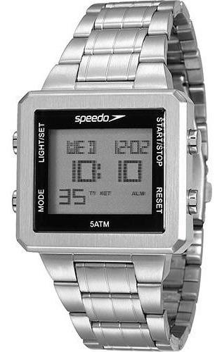Relógio Speedo Quadrado Digital Original