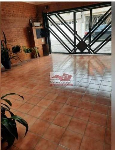 Sobrado Com 3 Dormitórios, 125 M² - Venda Por R$ 530.000,00 Ou Aluguel Por R$ 2.900,00/mês - Jardim Santa Emília - São Paulo/sp - So3255