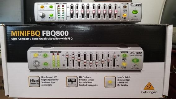 Ecualizador Behringer Minifbq Fbq800
