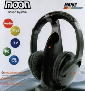 Auricular Inalambrico Ideal Smart Tv Pc Mp3 Dvd Moon Ma102