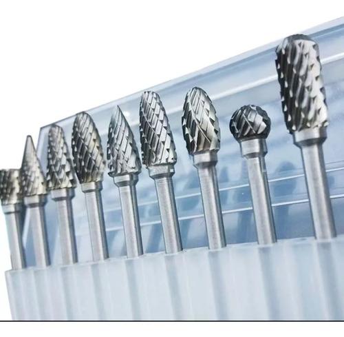 Imagen 1 de 5 de Set De Fresas De Carburo De Tungsteno Para Dremel