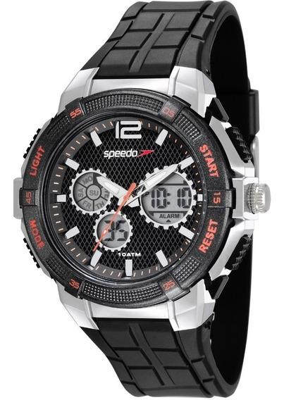 Relógio Speedo Masculino 81163g0evnp1 Anadigi Preto