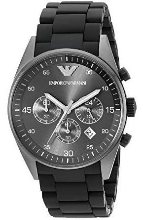 Relógio Emporio Armani Ar5889 Preto Cronógrafo Original