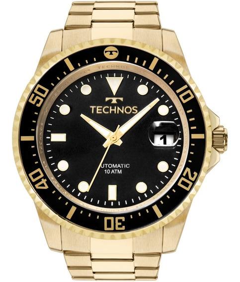 Relógio Technos Automatic Masculino 8205ny/4p Dourado