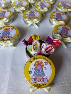10 Latas Personalizada Souvenir Con Golosina Oferta