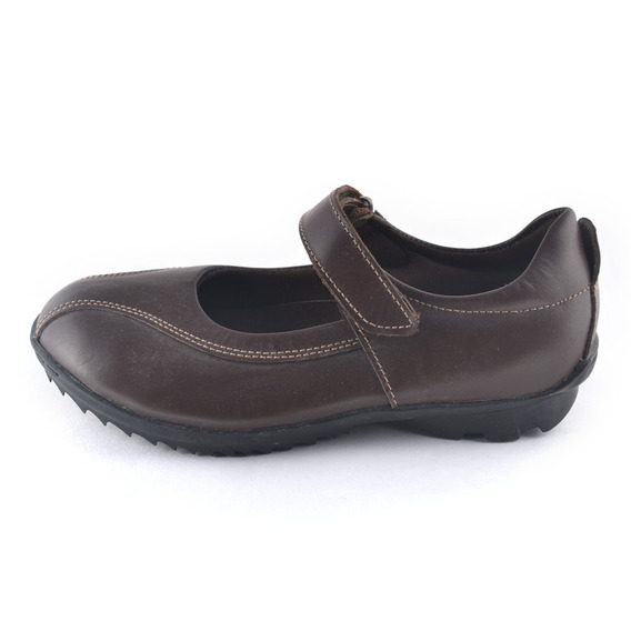 Guillermina Colegial Ecocuero Marron Small Shoes