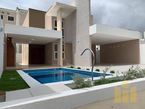 Casa Com 4 Dormitórios À Venda, 242 M² Por R$ 950.000 - Antares - Maceió/al - Ca0345