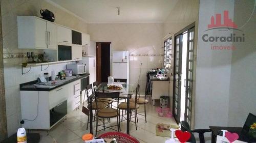 Imagem 1 de 8 de Casa Residencial À Venda, Jardim São Camilo, Santa Bárbara D'oeste. - Ca1503