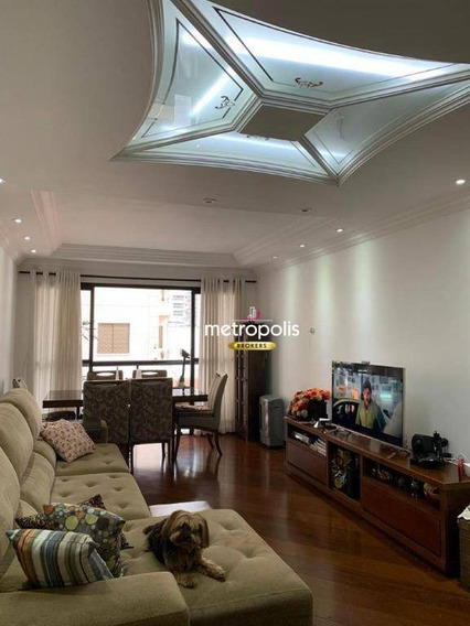 Apartamento À Venda, 98 M² Por R$ 550.000,00 - Santo Antônio - São Caetano Do Sul/sp - Ap2240