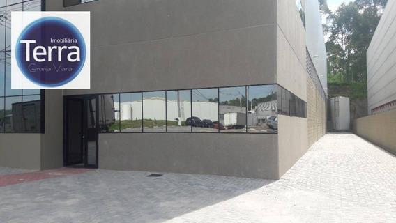 Galpão Para Alugar, 1250 M² Por R$ 22.000/mês - Parque Industrial San José - Cotia/sp - Ga0161