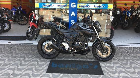 Yamaha Mt 03 321cc Ano/mod.2019 Preta Garantia Fébrica