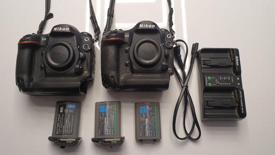 Nikon D4 + 64gb Com Apenas 46mil Clicks Oportunidade