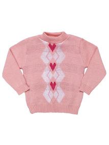 Suéter Infantil Para Bebê Menina - Rosa