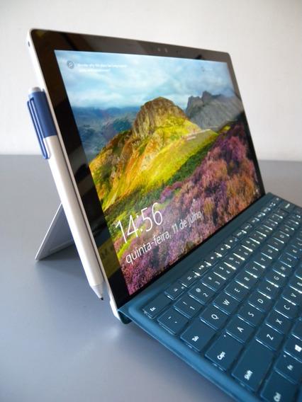Microsoft Surface Pro 4 I7 8gb 256ssd Teclado+ Pen 46ciclos!