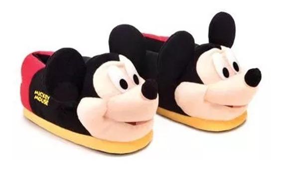 Pantufas 3d Disney Mickey Mouse 40/42 - Ricsen