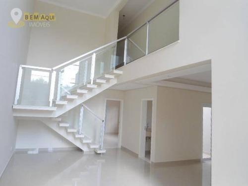Imagem 1 de 19 de Casa Residencial À Venda, Chácara Bela Vista, Itu. - Ca0177