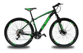 Bicicleta Ksw Aro 29 Xlt Cambios Shimano 24v + Pedivela Alum Shimano