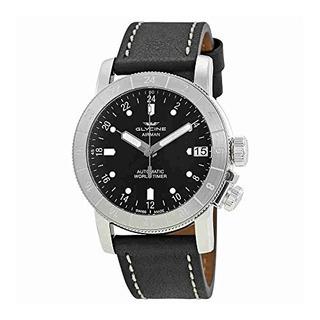 Reloj Para Hombre Glycine Airman World Timer Gmt Gl0135