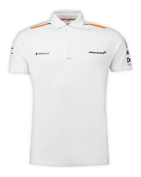 Camisa Polo Blanca Mclaren Formula 1 **2019**