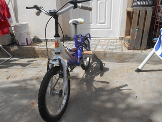 Bicicleta Para Niña Rodado 14 Excelente Estado