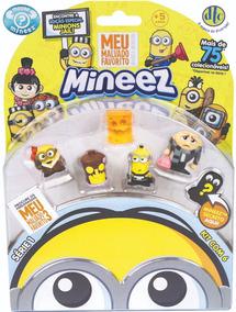 Bonecos Mineez Meu Malvado Favorito Kit C/6 - Dtc 4080