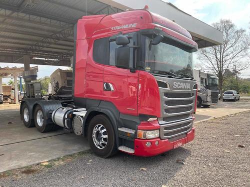 Imagem 1 de 13 de Scania R 440 6x4 Bug Leve