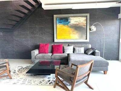 Penthouse Y Roof Garden Renta $12,000.00 Tipo Loft Zona Nort